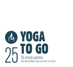 25-minute Yoga To Go CD