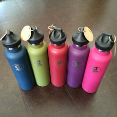 Guru Water Bottle with Moksha/Modo Flame
