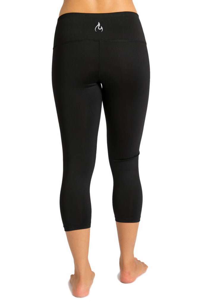 The Modo Collection By Inner Fire - Classic Black Capris