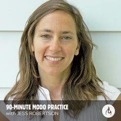 AUDIO DOWNLOAD: 90-minute Modo Yoga Class