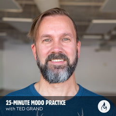 AUDIO DOWNLOAD: 25-minute Modo Yoga Class