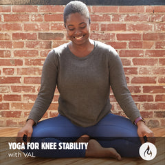 VIDEO DOWNLOAD: Yoga For Knee Stability (20 minute practice)