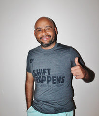 "Tee-shirt (""shift happens"") - unisex"