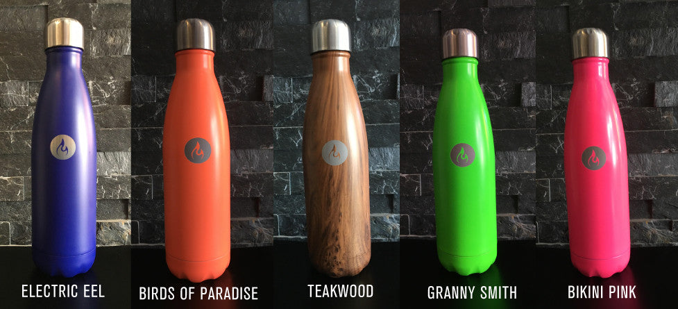 S'well Water Bottle with Modo Flame