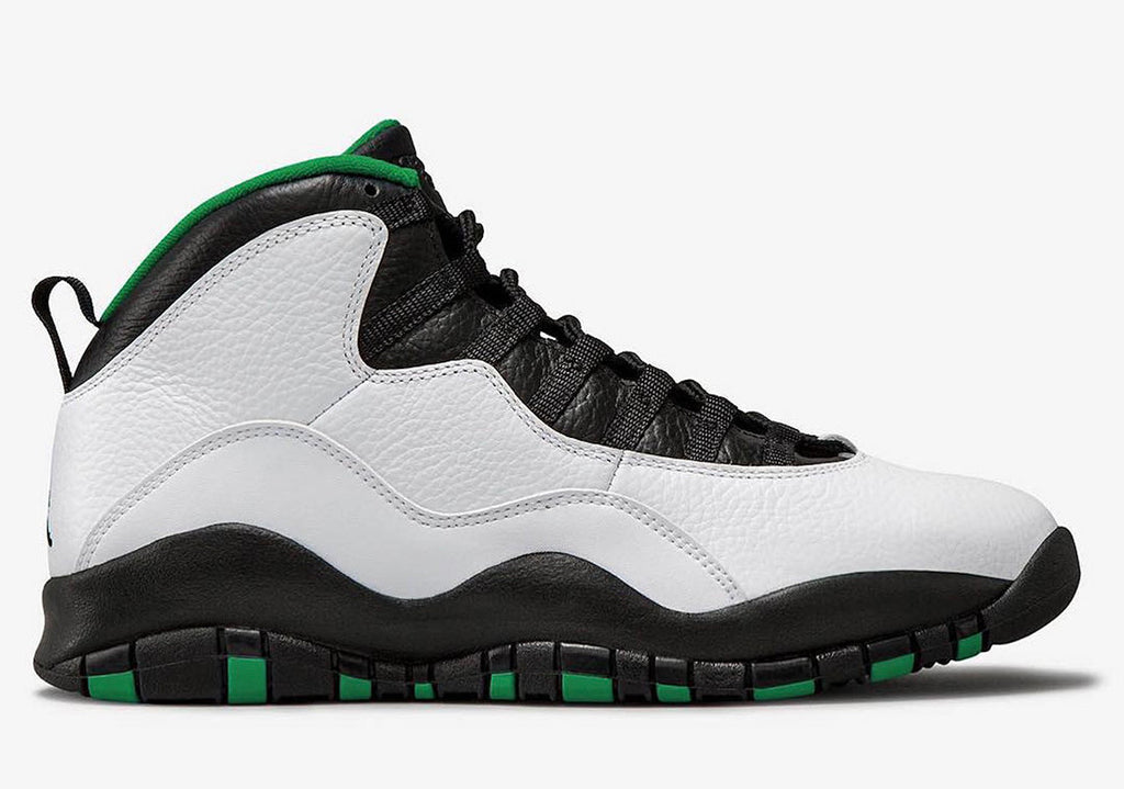 "Grade School Youth Size Nike Air Jordan Retro 10 ""Seattle"" 310806 137"