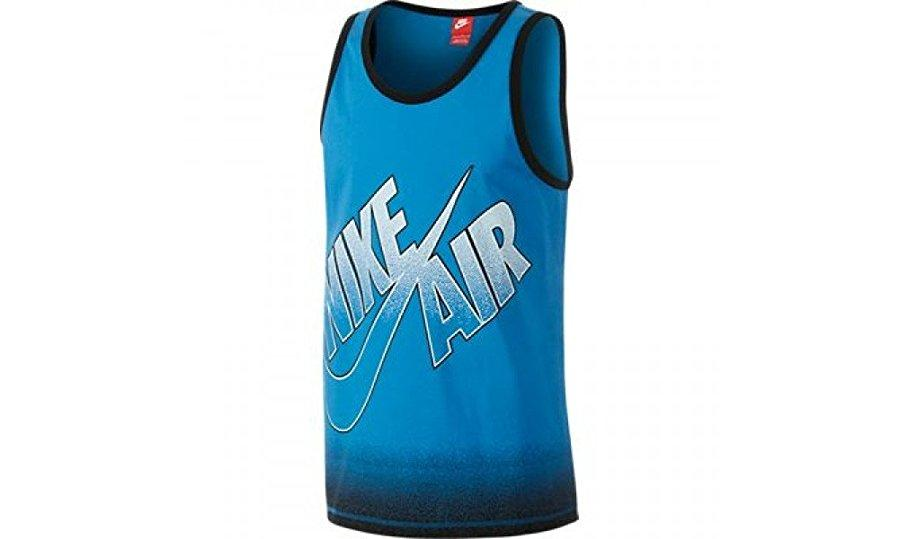 Men's Nike T-Shirt Air Flight Tank Top Sleeve Less 607824 436
