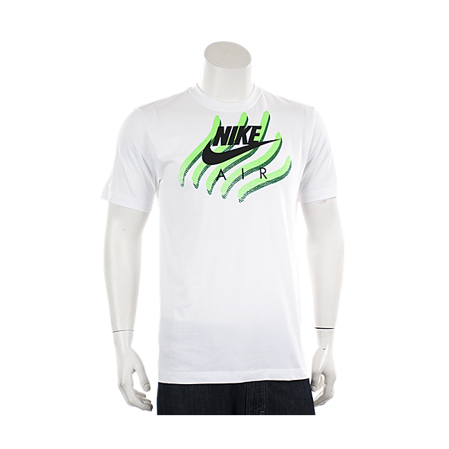 Men's Nike T-shirt Tiger Print Claw Design Short Sleeve 609975 100