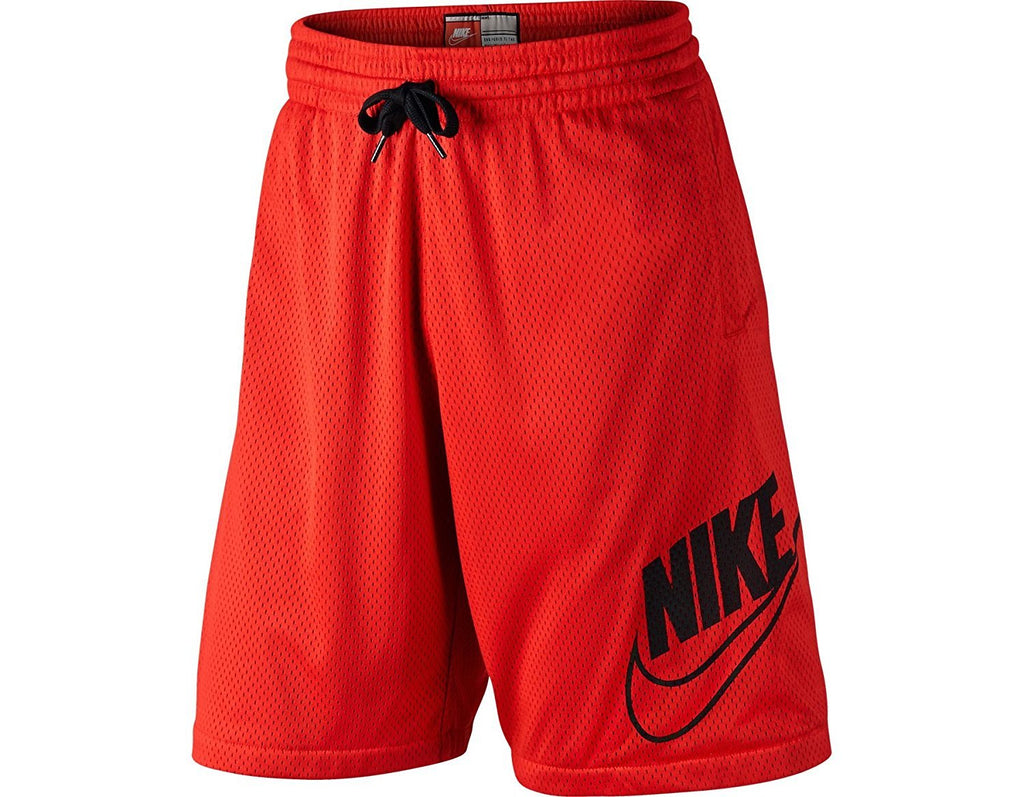 Men's Nike Shorts AW77 Franchise Mesh Athletic Red/Black 645571 657