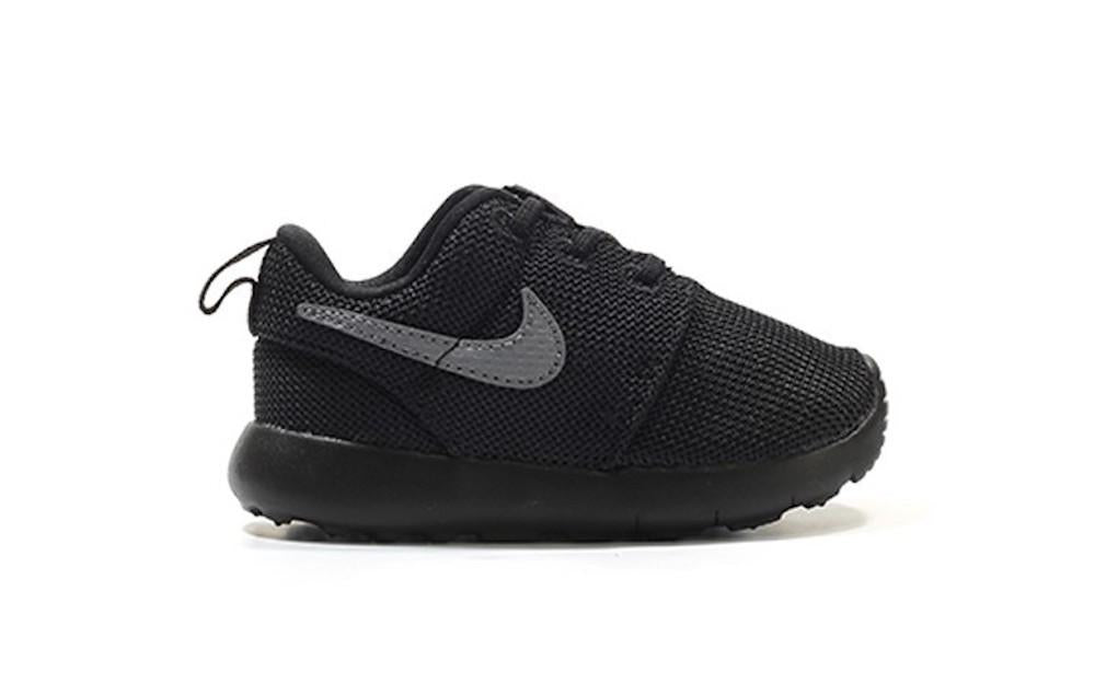 "Toddlers Nike Roshe One ""Black/Cool Grey"" 749430 020"