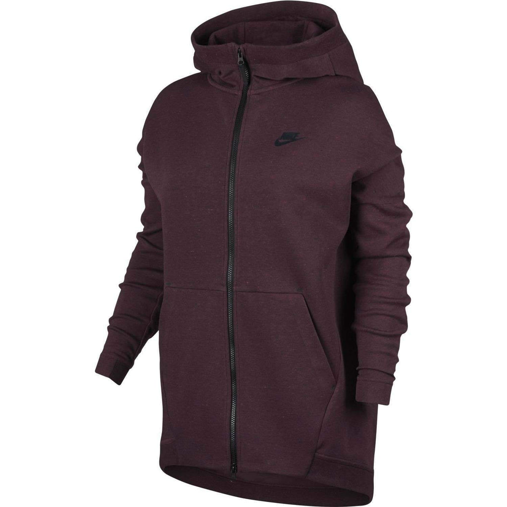 Women's Nike SweatShirt Tech Fleece Cape Hooded 811710 681