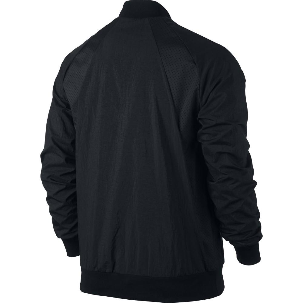 Men's Jordan Jacket Wings Woven Wind Breaker Full Zip Up 843100 010