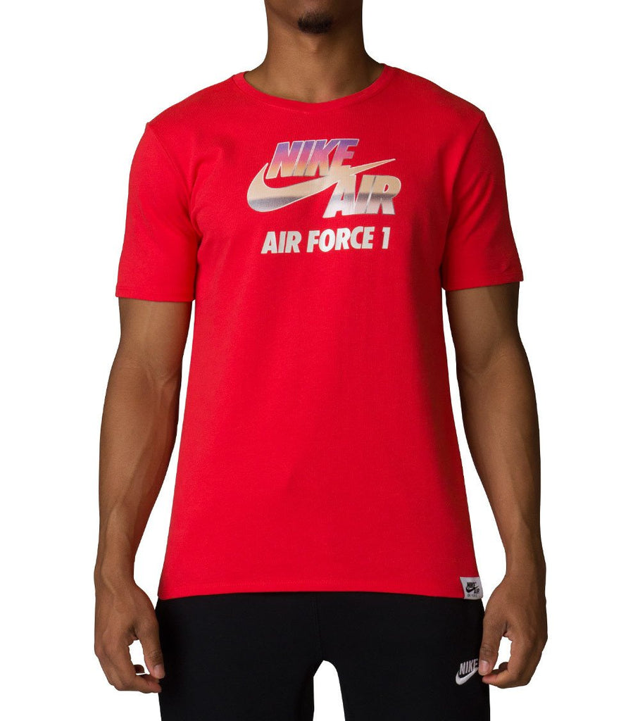 "Men's Nike T-Shirt ""The Nike Tee Force 1"" Short Sleeve 847593 602"