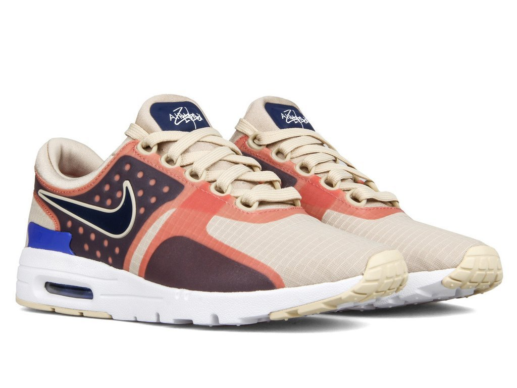 "Women's Nike Air Max Zero SI ""Oatmeal"" 881173 101"