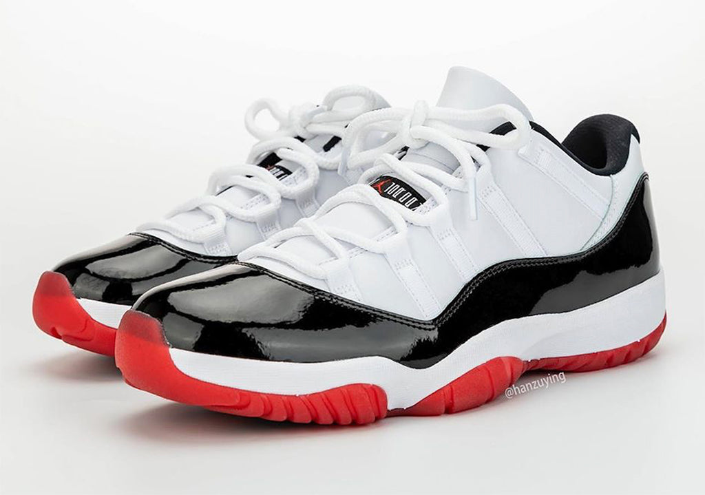 "Men's Nike Air Jordan Retro 11 Low ""Concord Bred"" AV2187 160"