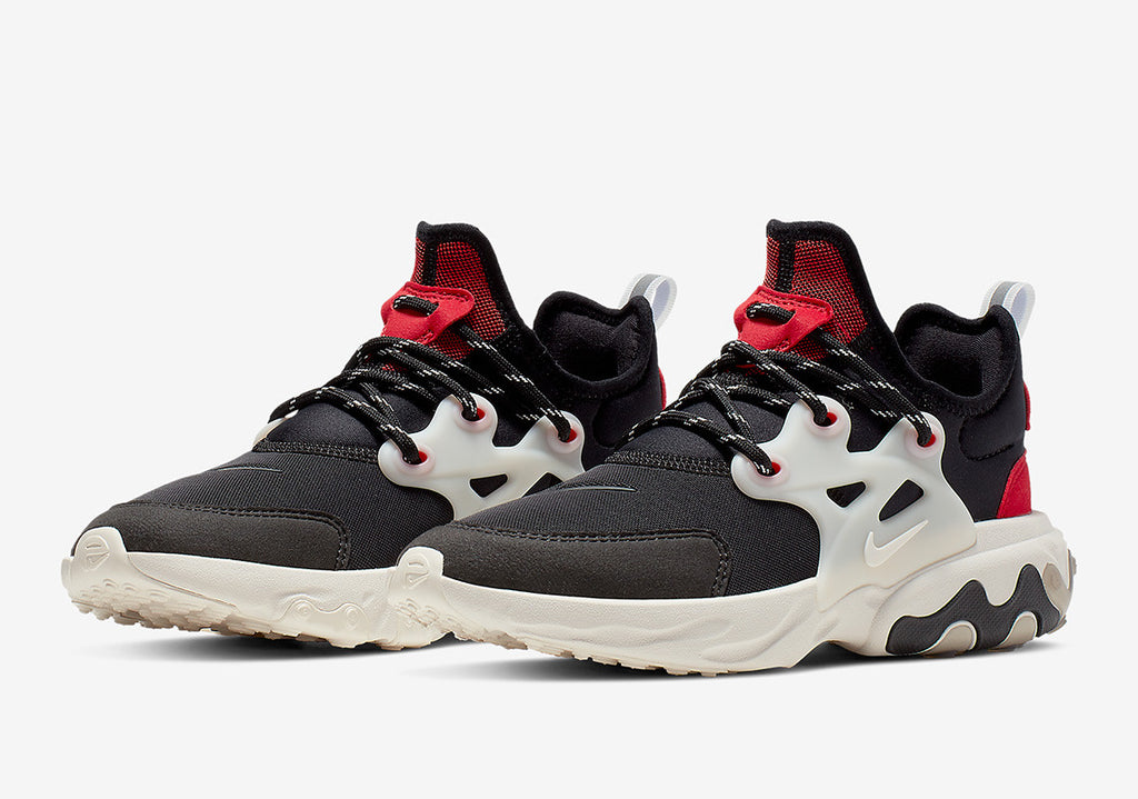 "Grade School Youth Size Nike Air Presto React ""Chatty Matador"" BQ4002 003"