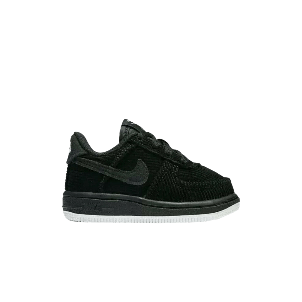 Toddler Youth Sizes Air Force 1 LV8 Style 'Black Corduroy' BV1235 001