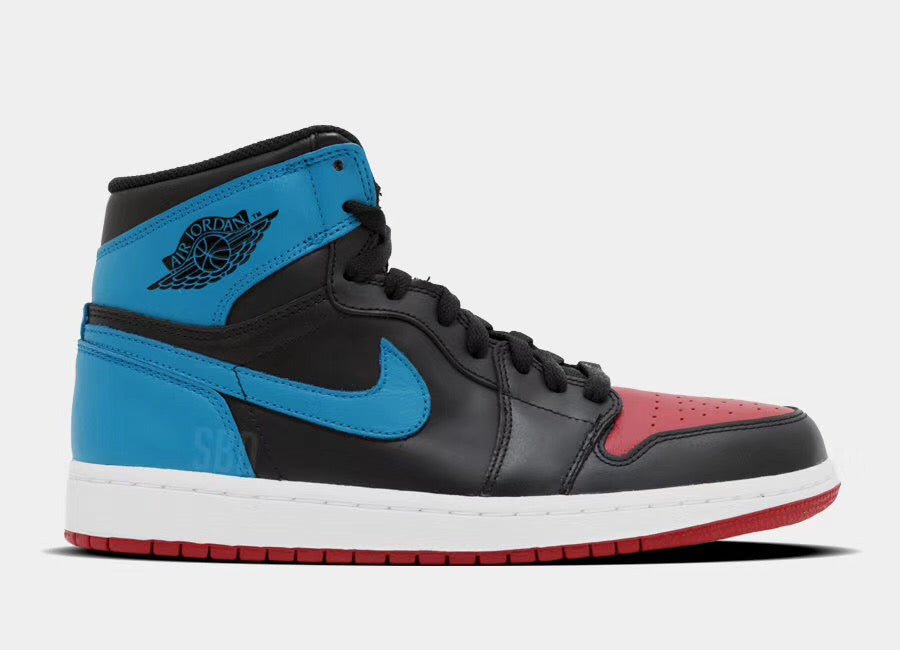 "Women's Air Jordan Retro 1 High OG ""UNC To Chicago"" CD0461 046"