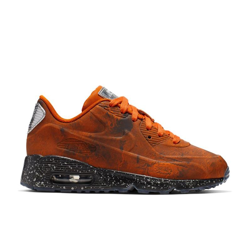 "Pre School Sizes Nike Air Max 90 3M Reflective Quick Strike ""Mars Landing"" CD6488 600"