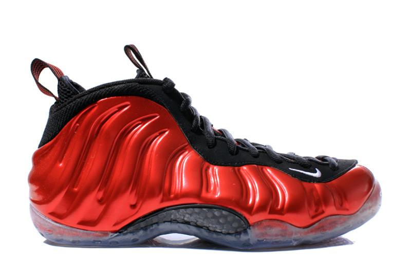 "Men's Nike Air Foamposite One ""Metallic Red"" 314996 610"