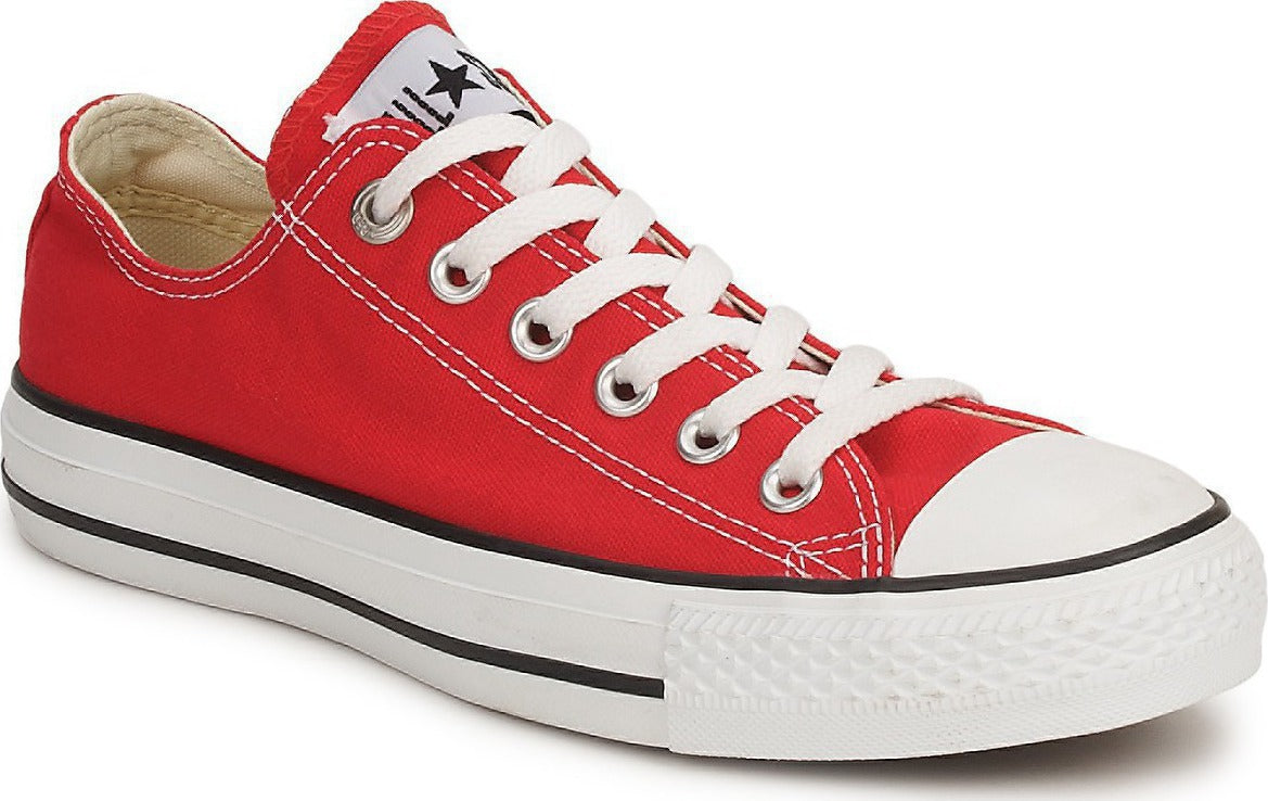 Grade School Youth Size Converse Chuck Taylor All Star OX Red//White M9696