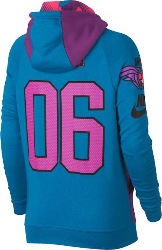 Girls Nike SweatShirt Amyiah Robinson Doernbecher Freestyle AQ3665 513