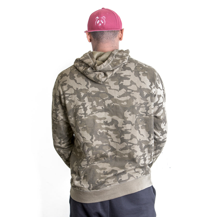 Camo Signature Friend Hoodie - The Panda's Friend