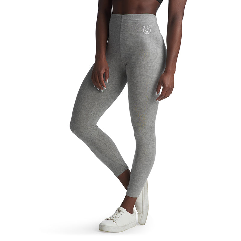 Grey Panda Leggings - The Panda's Friend