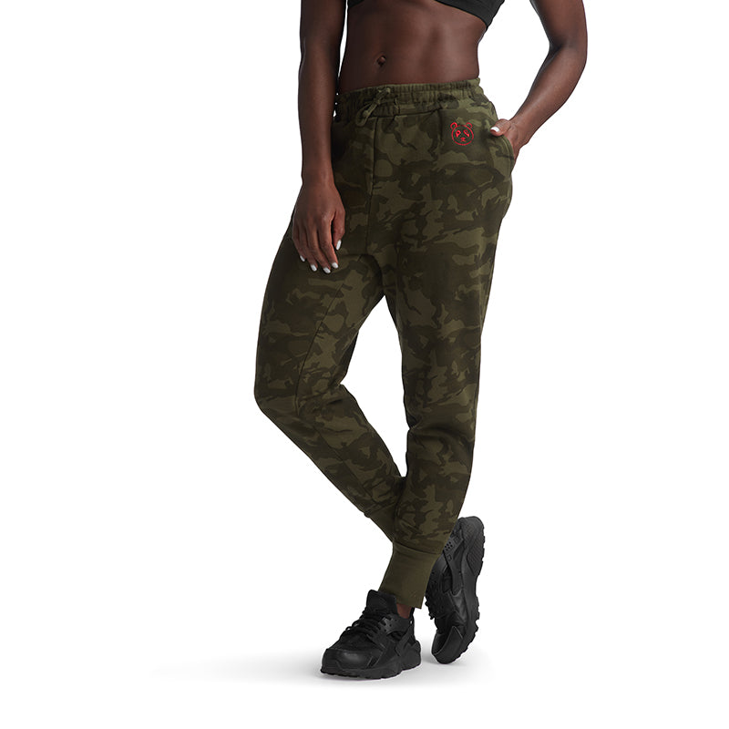 Camo Signature Fleece Jogger - The Panda's Friend