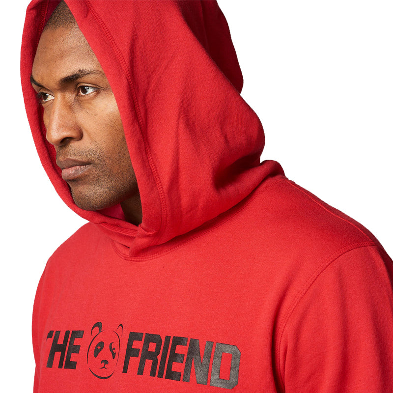 Red Signature Friend Hoodie