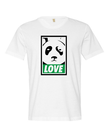 Love The Panda T-shirt (White)