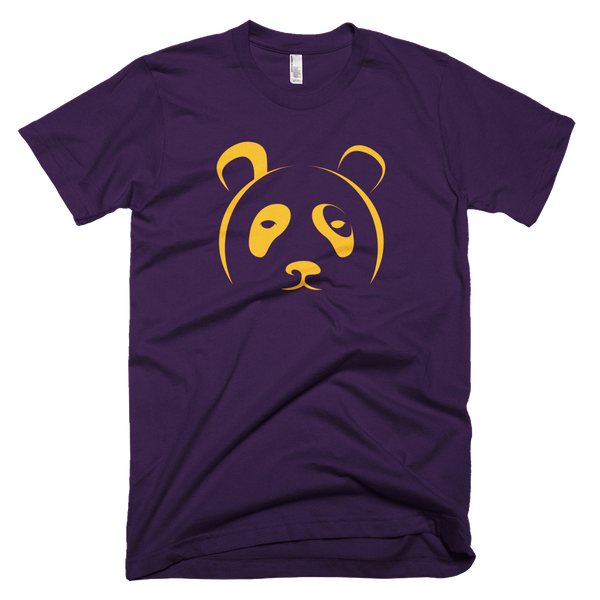 Men's Tee in Purple and Yellow