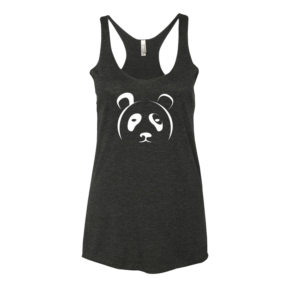 Women's Black Panda Tank - The Panda's Friend