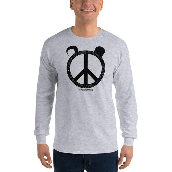 Pandas Inspiration  Long Sleeve T-Shirt - The Panda's Friend