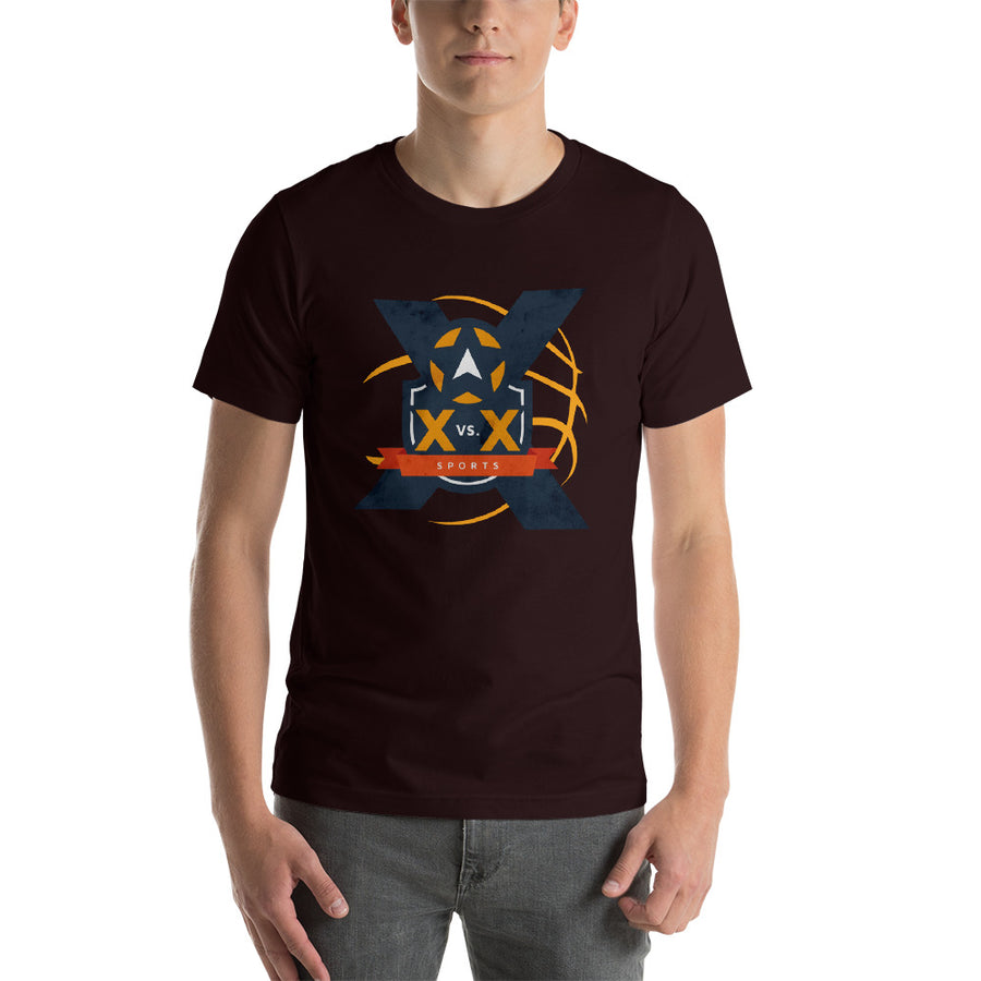 XvsX Basketball Short-Sleeve Unisex T-Shirt