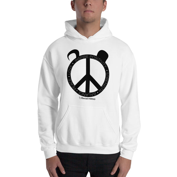 Peace Panda Hooded Sweatshirt - The Panda's Friend