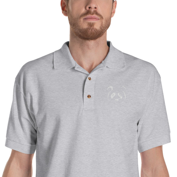Panda logo Polo ( assorted colors)