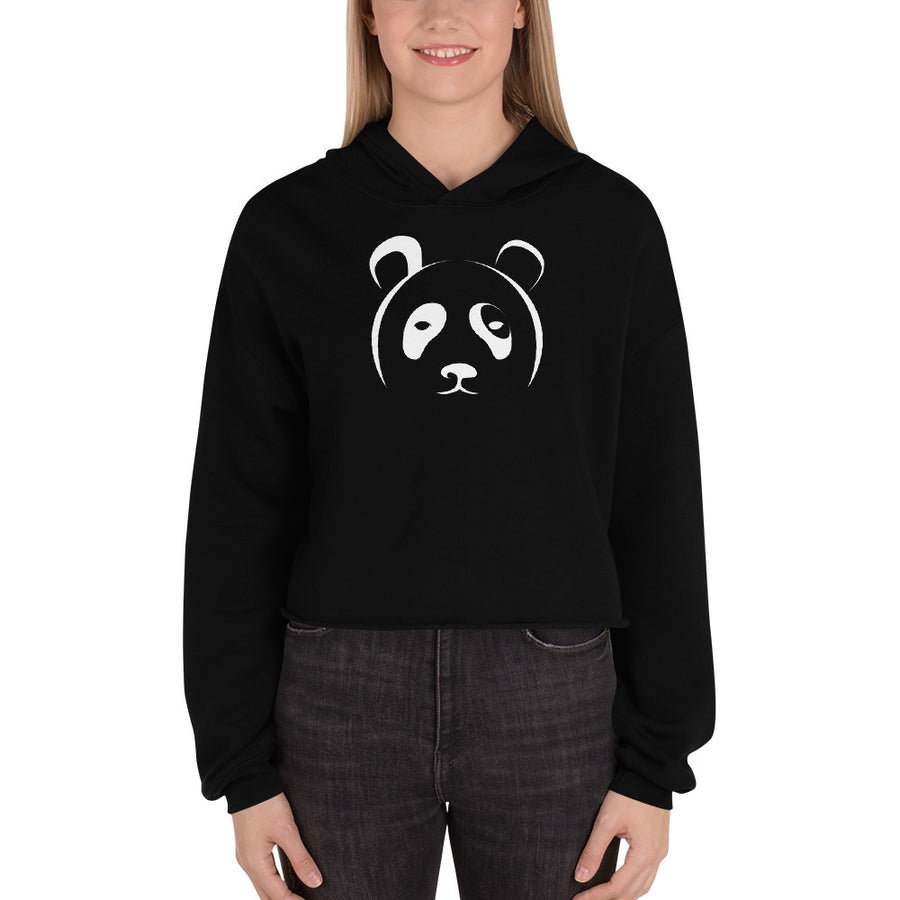 Panda Crop Hoodie - The Panda's Friend