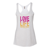 Womens THE PANDAS FRIEND LOVE LIFE TANK