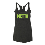 Womens Metta Definition Black Tank - The Panda's Friend
