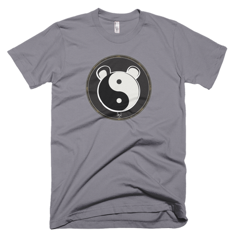 The Panda's Friend Slate Yin and Yang Double Sided T-shirt