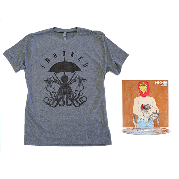 INBOKEH T Shirt and WAR CD Bundle