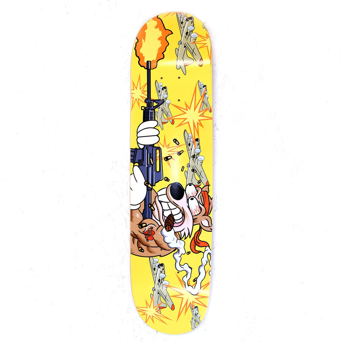 Six 3 Collective I Got Guns - 8 x 31.78 Skateboard Deck
