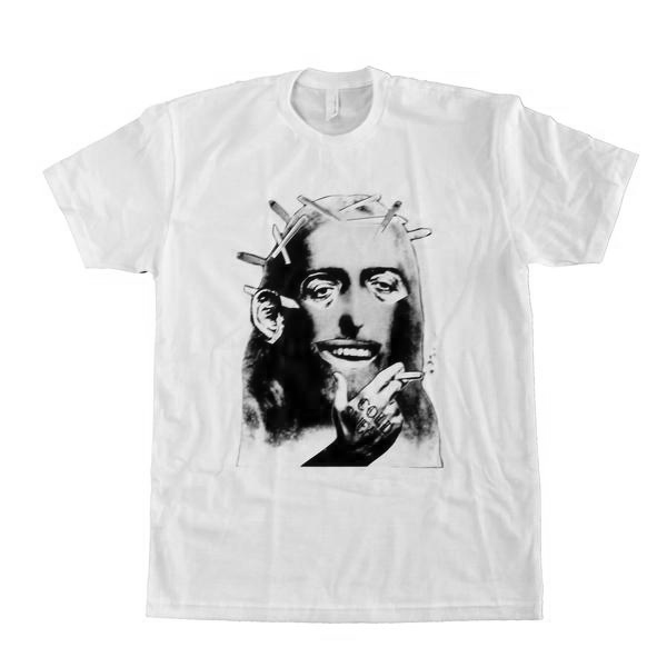 Cold Sweats Jesus White T Shirt