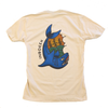 SHARK BEIGE T SHIRT