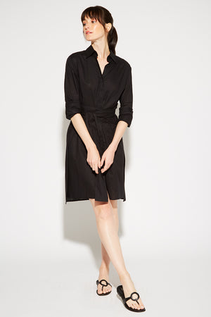 Mayfair Shirt Dress Linen Thumbnail