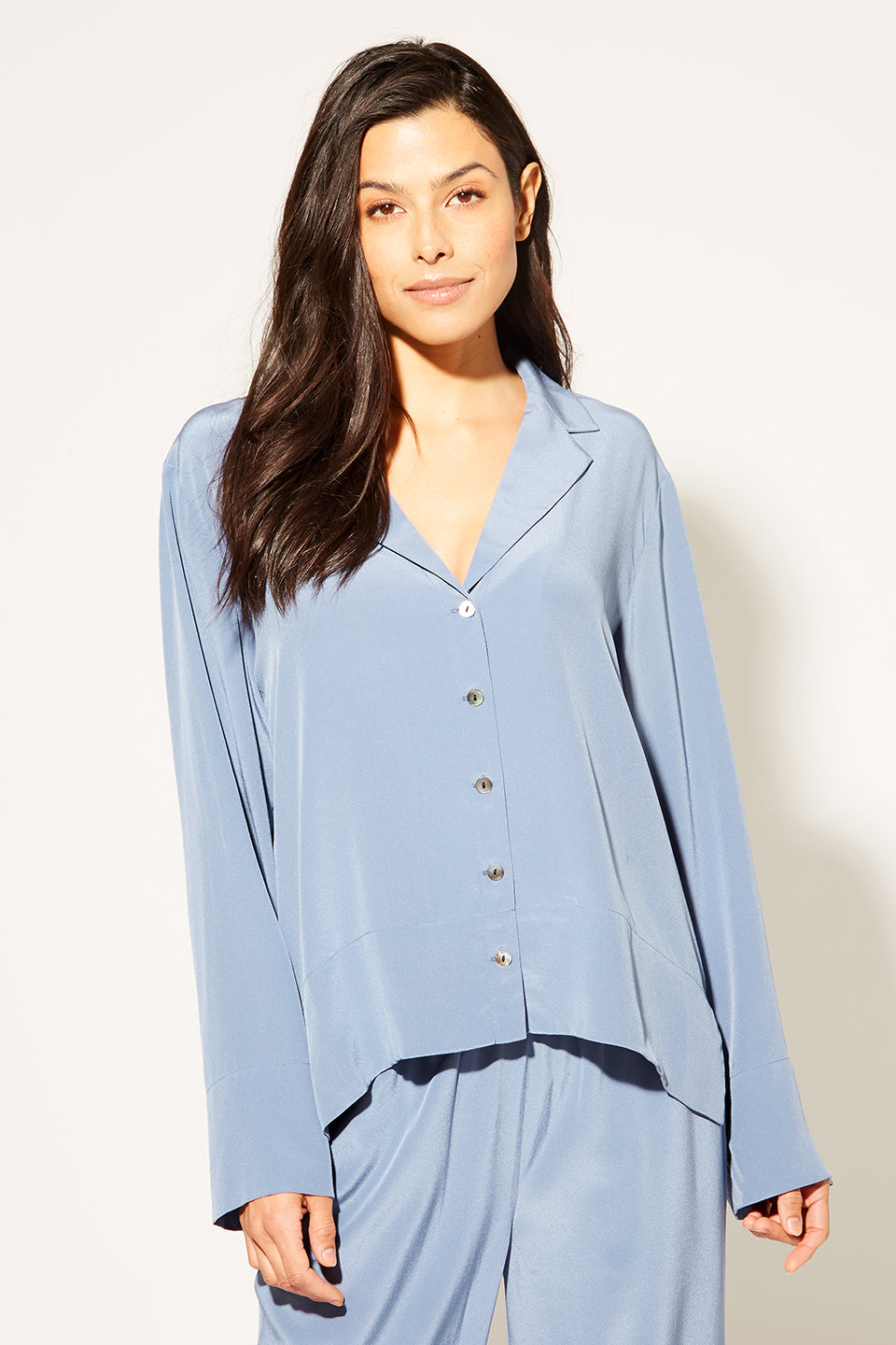 Vida Washable Silk Blouse