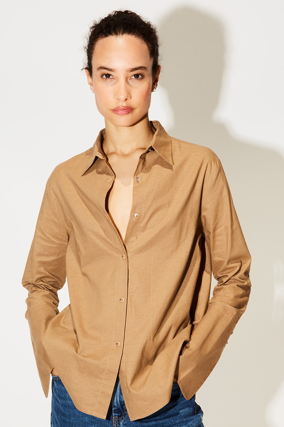 Husband Shirt Linen