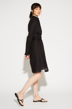 Mayfair Shirt Dress Linen