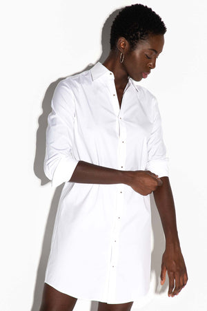 The Husband Shirt Dress with Silver Studs Thumbnail