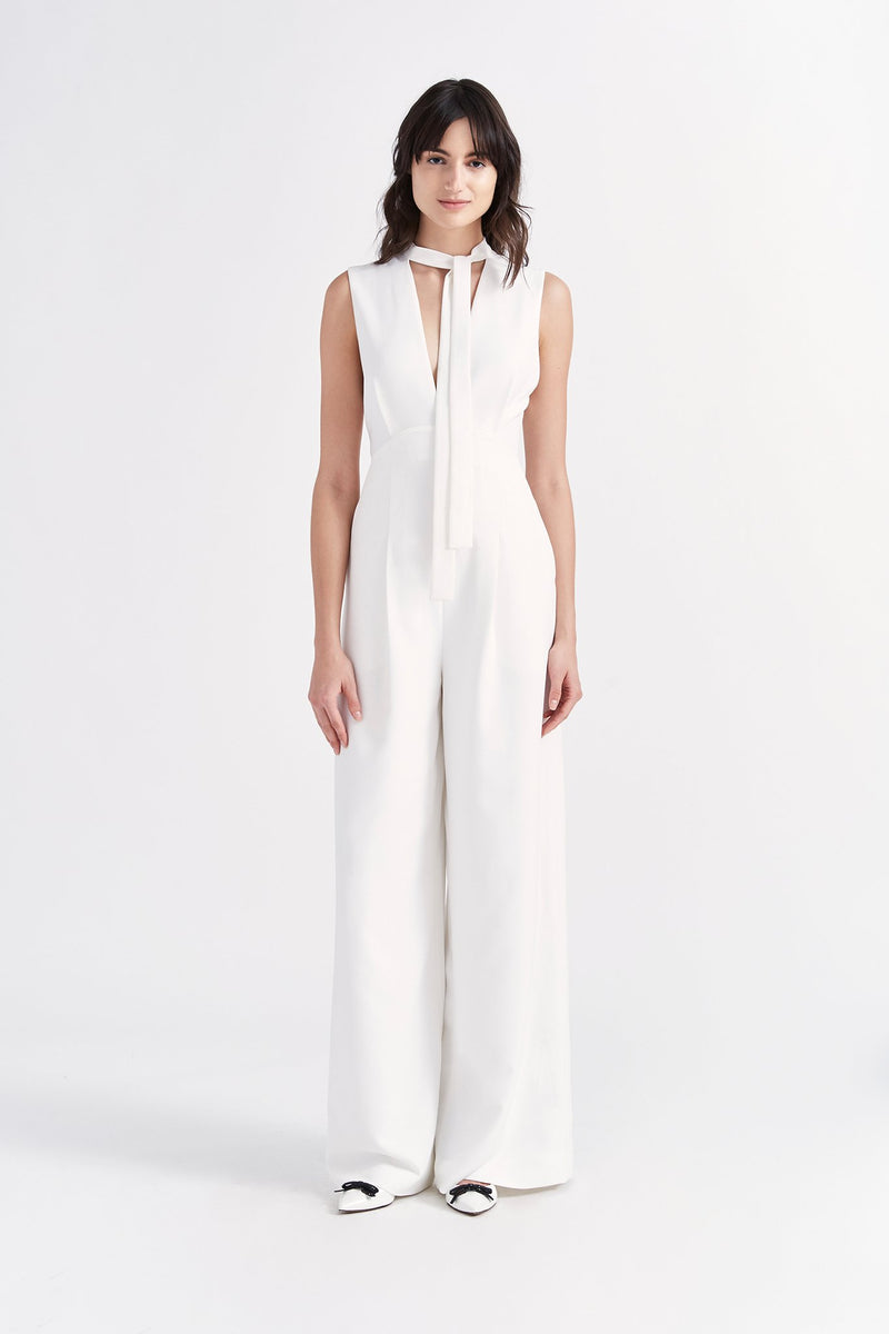 Tied-Up Jumpsuit